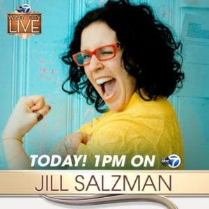 jill salzman features local businesses on windy city live
