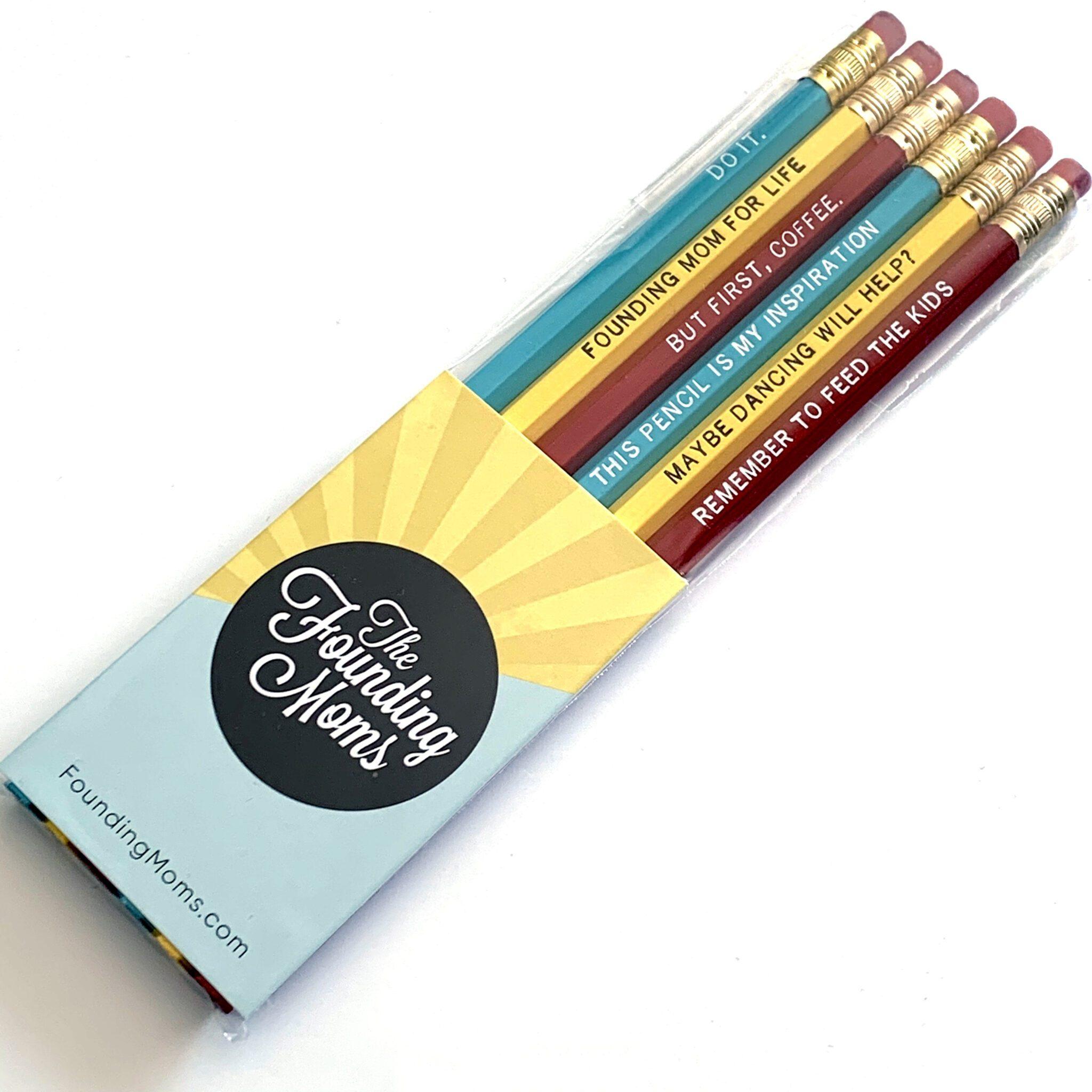 The Founding Moms Pencil Set.